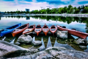 rotational molded kayaks